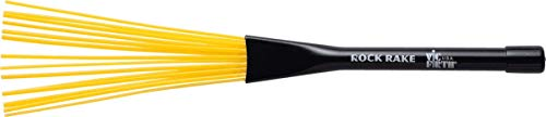 Vic Firth Rock Rake – Retractable – Yellow Plastic Handle