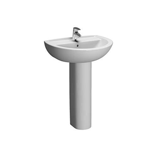 VitrA Layton Waschbecken, 45 x 36 cm, Weiß