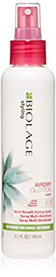 BIOLAGE Styling Airdry Glotion |Multi-Benefit Spray For A Glossy, Finished Look | Paraben-Free | For All Hair Types