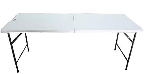 Cilvani Tavolo Pieghevole 180x75xH74 per Esterno Giardino PIC nic richiudibile Resina