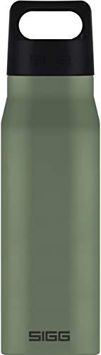 Sigg Explorer Leaf Green - Borraccia in acciaio inox (1L), a prova di perdite e di sostanze tossiche, bottiglia in acciaio inox, riciclabile e inodore.