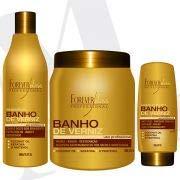 Kit Banho de Verniz Forever Liss Shampoo 500ml, Leave-in 150g e Máscara 1Kg