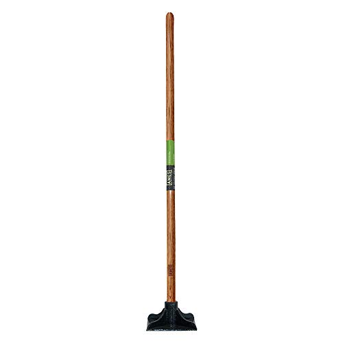 AMES 2233400 9-Pound Steel Tamper with Hardwood Handle, 48-Inch