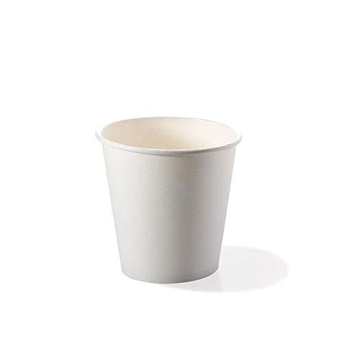CLICSON® - 821851- 400 Bicchieri in Cartoncino Bianco 80cc (Confezione da 50pz x8)
