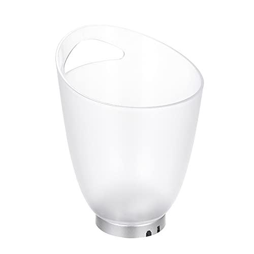 Ouuager-Home Cubitera 4L De Alta Capacidad 4 LED Lámpara De Luz RGB Lámpara De Hielo Curva Curva Dise?o Cambio Automático De Color Antióxidopara Fiesta