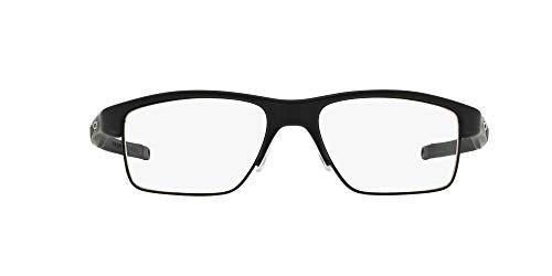 Oakley 3128, Monturas de Gafas para Hombre, Negro (Satin Black), 53
