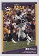Qadry Ismail (Football Card) 1997 Minnesota Vikings Minnesota Crime Prevention Association Minnesota Crime Prevention Association - [Base] #2