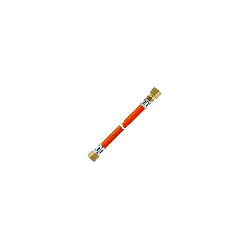 Gas-Schlauch 1/4' Überwurfmutter / Schneidring-Verschraubung Durchmesser 8 mm - L 60 cm - GOK
