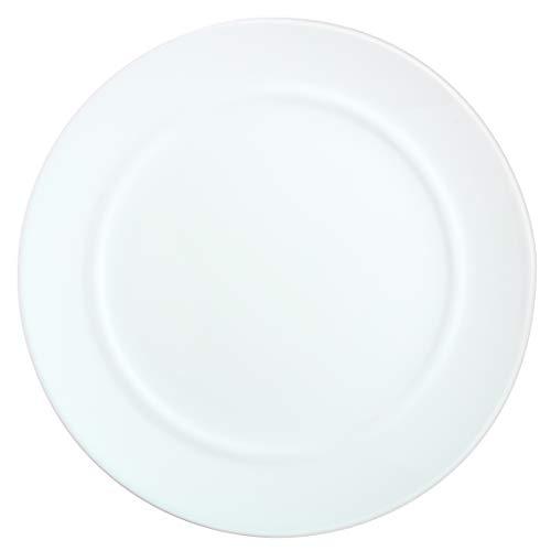 Luminarc L6353 Assiette Plate 25 cm-Alexie, Blanc - 1 Unité