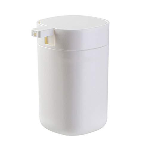 PYouo- Dosificador Jabón, Ducha portátil dispensador de jabón Gel de Prensa de Tipo Botella Gran Capacidad de Hogares loción champú 350ML de la Botella, Accesorios de encimera