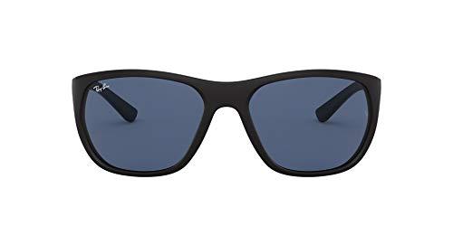 Ray-Ban 0RB4307 Gafas de sol, Matte Black, 61 para Hombre