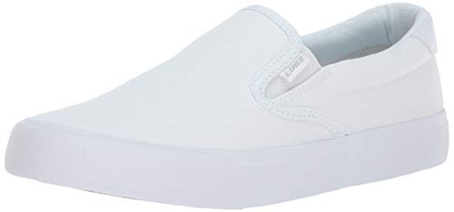 Girls Plain White Canvas Shoes