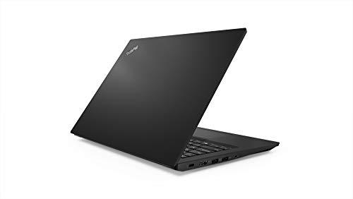 Lenovo ThinkPad E480 Intel Core i3 7th Gen 14-inch Thin and Light Laptop (4GB RAM/ 500GB HDD/ DOS/ Black/ 1.75 kg), 20KNS0R300