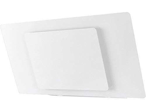 Hotte decorative murale Airlux AHW981WH - Hotte aspirante Pan incliné - largeur 90 cm - Débit d'air maximum (en m3/h) : 800 - Niveau sonore Décibel mini. / maxi. (en dBA) : 37 / 72