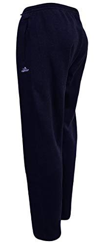 Sockenhimmel Jogginghose Thermohose Herren Sporthose Fitnesshose warme Trainingshose Uni M - 3XL Fleece gefüttert Gummibund (2XL, Marine)