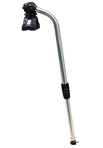 Brocraft Transducer Mounting Arm with Deck Mount/Kayak Fish Finder Transducer Mounting
