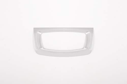 Argenté mat pour F15 2014–2018 ABS Chromé pour phare lampe commutateur Décoration Cadre Bordure Accessoires Auto