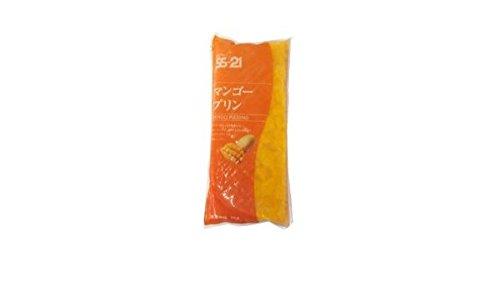 キューピー 業務用 冷凍 SS-21 マンゴー プリン カットタイプ 1kg 6袋