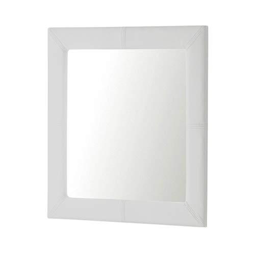 93X93 Cuadrado Plata Espejos Modernos Dugarhome