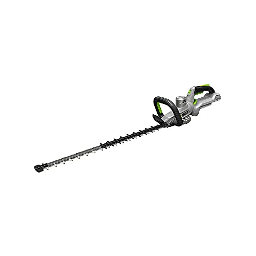 """EGO Power+ HT2500 25"""" Cordless Electric Double Sided Hedge Trimmer with Rotating Handle - Battery and Charger Not Included, Black"""