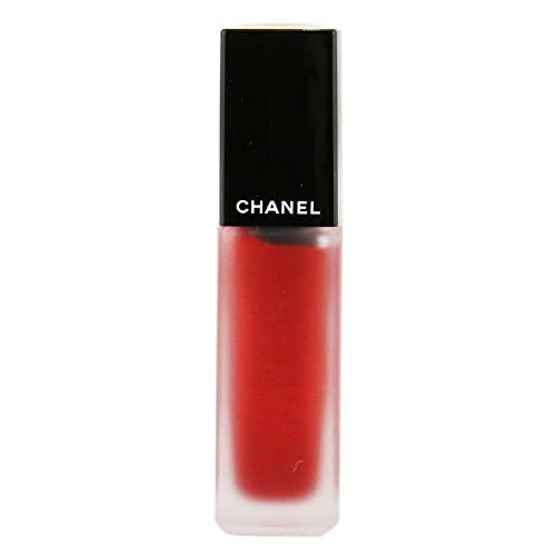 Chanel Rouge Allure Ink Le Rouge Liquide Mat 208-Metallic Red 6 Ml - 1 Unidad