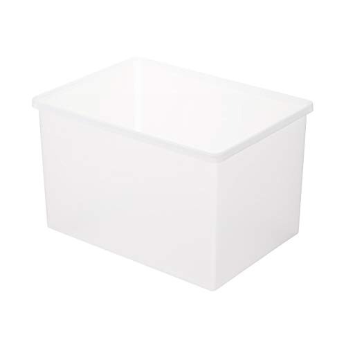 MUJI Caja de Almacenamiento, Polipropileno, Blanco, Mediano