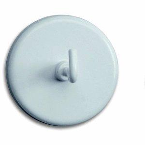 Maul aimant à crochet avec crochets'un diamètre de 47 mm 15 kg de adhérence 5 blanc