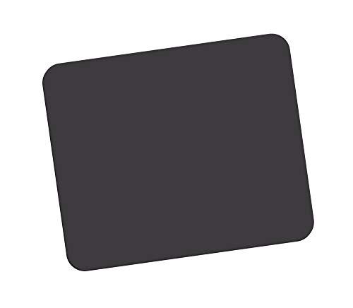 Fellowes Mauspad aus Schaumstoff, Mousepad mit rutschfester Unterseite, langlebige Polyesteroberfläche, aus 50% recyceltem Material, Maße: 18,6 x 22,4 x 0,6 cm, Farbe: schwarz