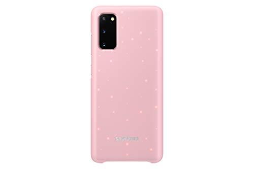 avis samsung du moment professionnel Samsung LED Cover pour Galaxy S20 5G, rose (EF-KG980)