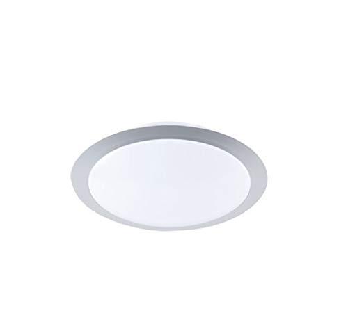 Trio Leuchten LED-Deckenleuchte titanfarbig, Kunststoff weiß, inklusive 1x 9W LED, ø 30 cm 626510987