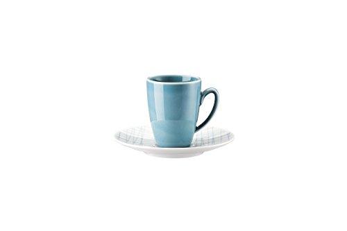 Rosenthal Mesh Line Aqua Espressotasse 2-TLG. [NPR]