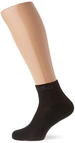 Odlo Socken Socks Quarter Active 2 Pack, Black, 36-38, 763830