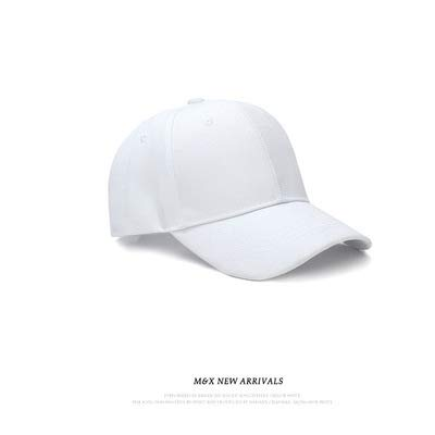 wtnhz Artículos de Moda Sombrero para Mujer versión Coreana de Gorra de béisbol Simple y versátil Gorra Casual de Color sólido para Hombre Sombrero para el solRegalo de Vacaciones