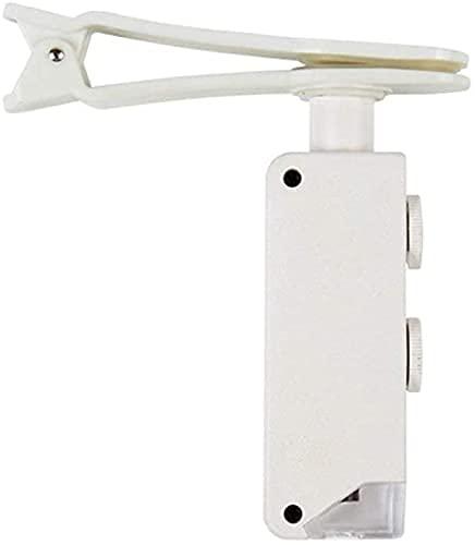 Oevina Boîte de Montre Table Cabinet Megger Rangement Verre de téléphone Mobile d illumination 200x avec LED Léger Haute DÉFINITION Microscope Portable à lentille DIY Artisanat Sculpture et réparat