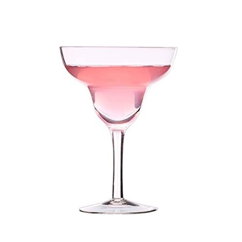 LYLY Conjunto de Copas de Vino de 4, Conjunto de Gafas de cóctel Claro clásico de Tallo Recto, Regalo de Vino para la Fiesta de Compromiso, reuniones de Trabajo, alojamiento doméstico Copas de Vino