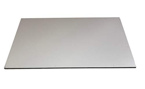 Etalbond RAL9016 - Placa de aluminio (2 mm, 600 x 350 mm), color blanco mate