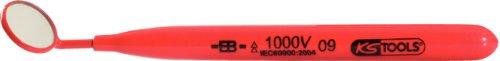 KS Tools 117.1630 Isolierter Suchspiegel, 22mm, 175mm