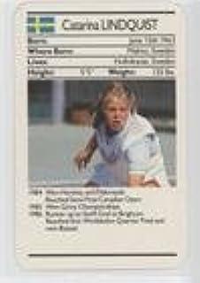 Catarina Lundquist (Trading Card) 1988 Ace Fact Pack Tennis - [Base] #CALU