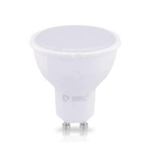 GSC Lámpara Dicroica LED 7,5W SMD GU10 4200K 230V, Blanco