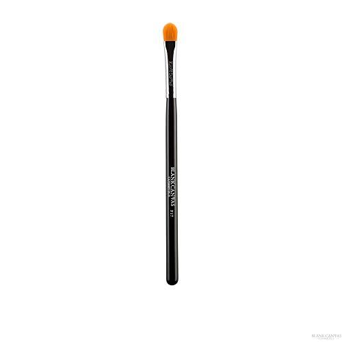 Blank Canvas F17 Pinceau de maquillage multi-usage Végan Friendly Visage Argent/Noir Argent Noir 1 Unités
