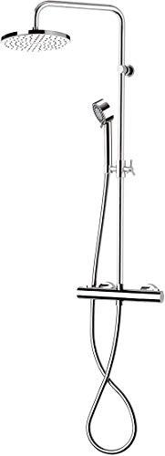 Rubinetterie Mariani colonna doccia con termostatico B00A66T300
