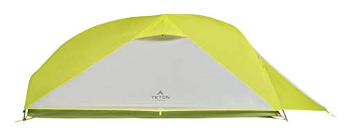 TETON Sports 1312 Altos 1 Tent; 1 Person Backpacking Tent Includes Footprint & Rainfly, Bright Green, 16.75 x 6 x 6.25