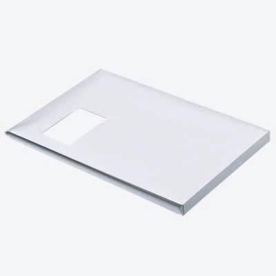 100 MAILmedia Faltenversandtaschen C4 / mit Fenster / Faltenbreite 2,0 cm / selbstklebend / weiß