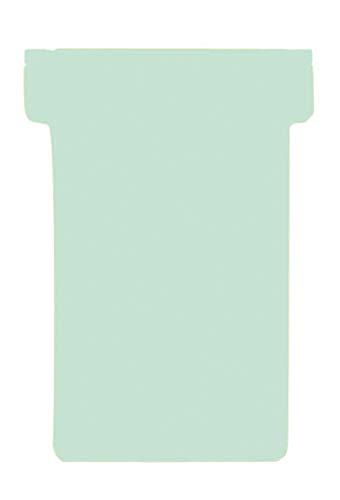 Franken TK219 T-Karten (Größe 2, Kartenträgermodule, 59 mm) Schachtel mit 100 Stück hellgrün