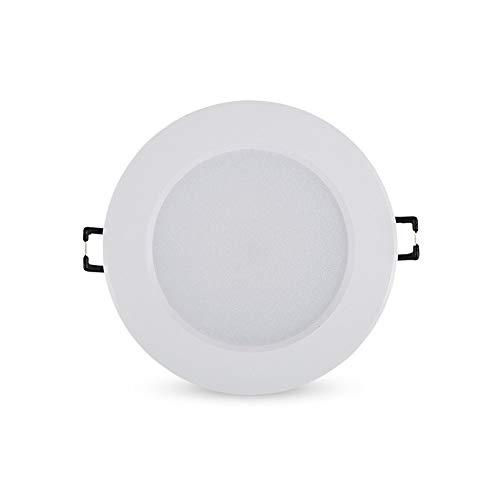 BEDKING Weißer runder eingebetteter Scheinwerfer 5w/7w/9w/12w/15w/18w führte vertieften energiesparenden Haushalt Downlight blendfrei kein Röhrenblitz-Flutlicht-Moderne Deckenverkleidungs-Leuchte