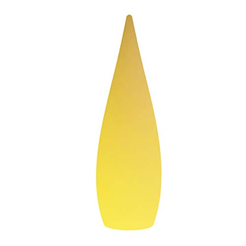 Lámpara de Pie Luz de Gota de Agua Que Brilla intensamente led Lámpara de pie al Aire Libre del Hotel de la Sala de Estar Colorida Iluminación Interior (Size : Medium)