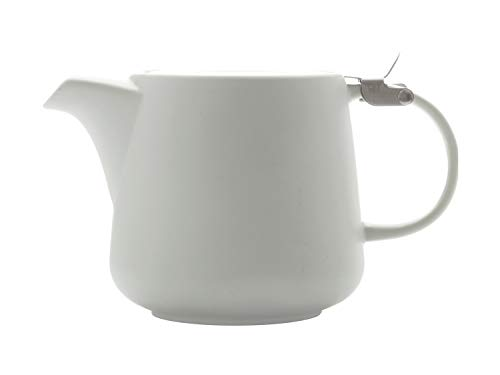 Maxwell & Williams Tint Teekanne, Porzellan, weiß, 17 x 11 x 11 cm