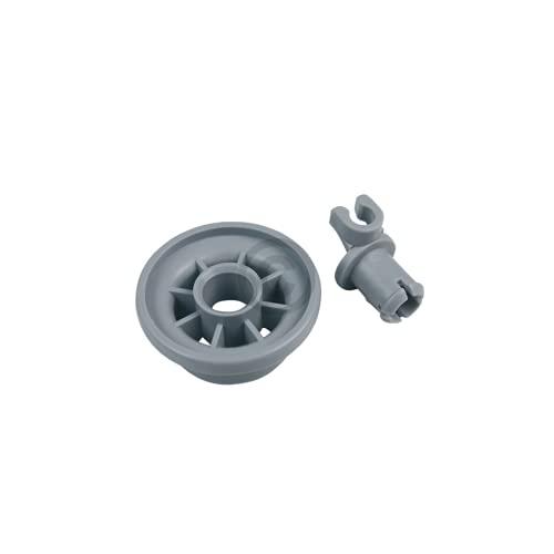 DL-pro Juego de 4 ruedas para cesta inferior de Bosch Siemens 00165314 165314 00420198 420198 ruedas para lavavajillas Silence Logixx