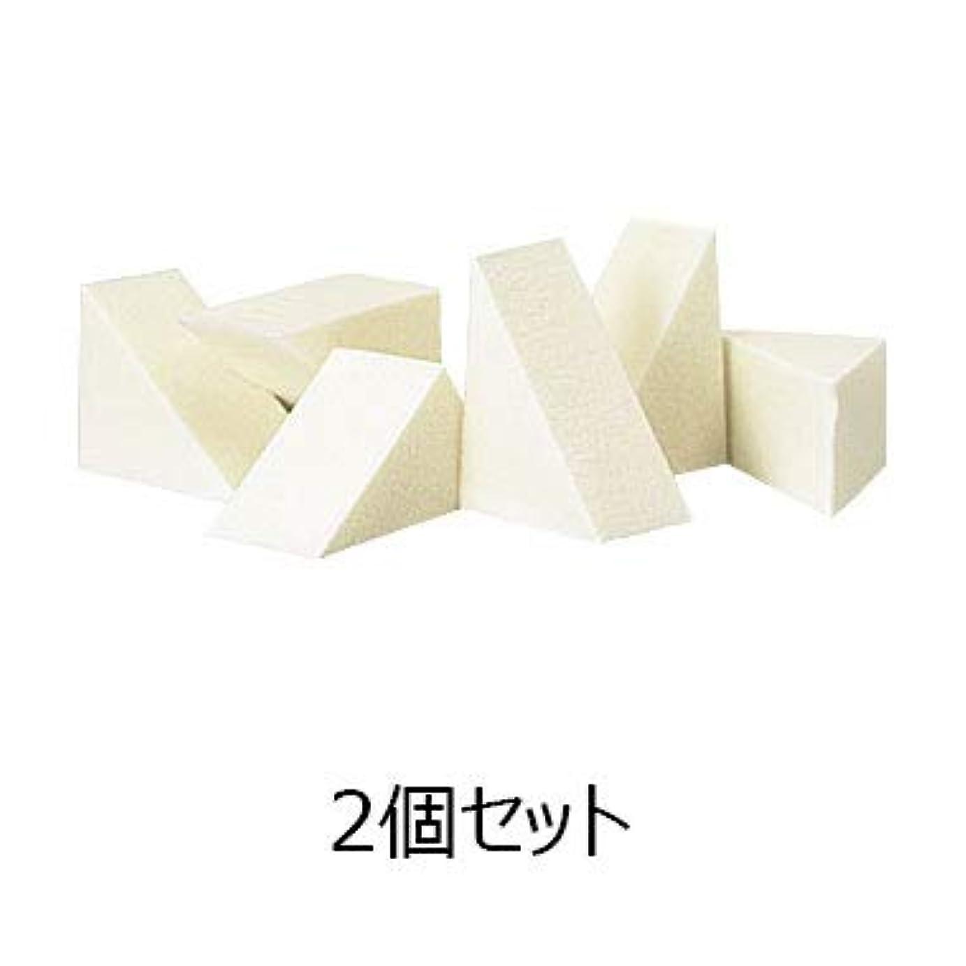 歩く木製滅多カバーマーク ナチュラル スポンジ<エクストラフォーミュラ専用> (6個入り) 2個セット