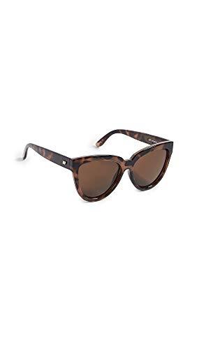 Le Specs Gafas de sol de guarida mentiroso única Talla Tortuga
